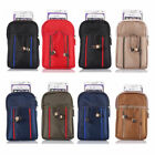 "6.3"" Zipper Belt Buckle Bag Carrying Case Pouch Pocket For Mobile Cell Phones"