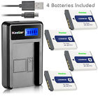 Kastar Battery LCD Charger for Sony NP-BD1 NPBD1 & Sony DSC-T70 Digital Camera