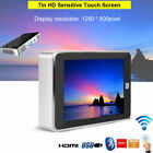 """1080P HD 7"""" Wifi Bluetooth 3D DLP Projector MP5 Player Touch Screen Home Theater"""