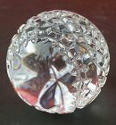 Waterford Crystal Baseball Paperweight Blank Panel