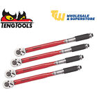"Teng Ratchet Torque Wrenches 3/8"" 1/2"" Drive 5-25Nm 20-100Nm 40-200Nm 70-350Nm"
