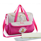 Floral Maternity Mummy Nappy Bag Diaper Baby For Travel Large Backpack Handbag