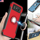 For Samsung Glaxy S7Edge S8 S9 Case Ring Stand Note 9 J8 A9 Magnetic Car Cover