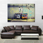 On Canvas Oil Painting Graffit Frameless Wall Scrub Home Decor Huge Wall Art Z