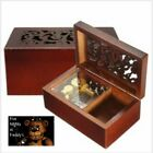 Rectangle Wood Carving Jewelry Music Box ♫ Five Nights at Freddy's Theme ♫
