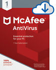 McAfee AntiVirus Plus 2018 - 1 Pc/3/5/10 Pcs 1Year Subscription Download Version