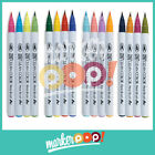 ZIG Clean Color Real Brush Marker Set of 4 Collection
