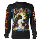 Official T-shirt DEF LEPPARD Hysteria Album Long Sleeve All Sizes Logo