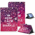 """US Universal For 8"""" Inch Tablet Pattern PU Leather Folio Stand Cover Case"""