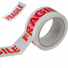 Fragile Printe Parcel Packaging 48MM X 66M  Tape Roll Fragile tape print clear