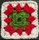 Christmas - Drink Coaster Or Afghan/Granny Starter Square - Crochet For Blankets