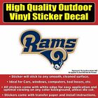 Los Angeles Rams Vinyl Car Window Laptop Bumper Sticker Decal $8.25 USD on eBay
