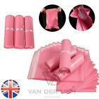 *UK Seller* 1~200X PINK Strong Postal Mailing Bags Plastic Polythene Self Seal