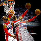 "043 John Wall - WASHINGTON WIZARDS Basketball NBA Star 14""x14"" Poster on eBay"