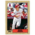 """017 Mike Trout KE- Los Angeles Angels MLB Top Player 14""""x14"""" Poster on Ebay"""