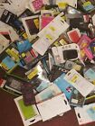 Wholesale Lot RANDOM Mix IPhone 4/5 IPd mini 1 Cases & tempered. Top brand 100+