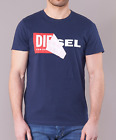 Men's Diesel T Shirts Crew Neck Cotton Designer Tee Shirt Top RRP £40 Summer New