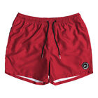 """QUIKSILVER NEW Mens Everyday 15"""" Volley Board Shorts Quik Red BNWT"""