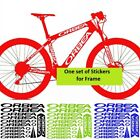 Frame Stickers Set For Orbea Mtb Bike Bicycle Cycling Cycle Race Decals