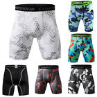 Mens Compression Shorts Cool Dry Under Base Layer GYM Workout Sport Short Tights