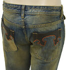 $315 DOLCE & GABBANA Blue Distressed POWER Men's Denim D&G Jeans NEW COLLECTION
