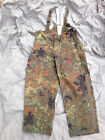 German Army Surplus Flectarn Camouflage Goretex Trousers