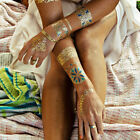 1 PC Temporary Tattoo Sticker Fashion Metallic Fake Tattoo Body Art for Women $1.69 USD on eBay