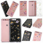 For iPhone XR Xs Max 6 8 7 Samsung Note S9  Plastic Planet Pattern Design Case