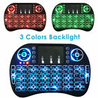 Mini 2.4GHz Backlit Wireless Keyboard Touchpad Air Mouse For PC Android TV Box