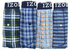 Kyпить IZOD Mens Button Fly Cotton Tag Free Boxer Shorts Underwear, 4 Pack	 на еВаy.соm