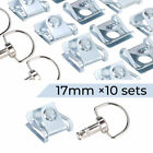 4 8 10 Pcs Race Fasteners Quick Release 1/4 Turn Fairing 17MM D-Ring Chrome Bolt $22.79 USD on eBay