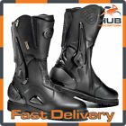 Sidi Armada Gore-Tex Waterproof Motorcycle Motorbike Touring Boots - Black