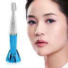 Women Girl Electric Eye Brows Trimmer Body Face Hair Remover Shaver Wet Dry