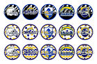 """NFL San Diego Chargers PRE CUTS or DIGITAL SHEET 1"""" Circle Bottle Caps $3.5 USD"""