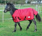Sale !!Last one !   MEDIUM WEIGHT TURNOUT RUG, Red, 3'9