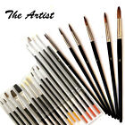 6-15 Artists Painting Brushes Piece Set Fit For The Job Arts & Crafts Brush Pack