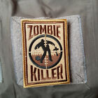 ZOMBLE KILLER 3D U.S. ARMY USA TACTICAL MORALE BADGE EMBROIDERED HOOK PATCH -01