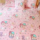 Little Twin Stars couple kids coral fleece blanket bed blankets pillowcase anime
