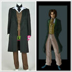 Doctor Who 8th Dr Paul McGann Cosplay Costume Suit Outfit Halloween Costume G.16