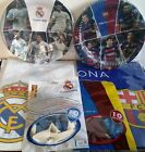 Classico Bacelona FC Real Madrid C Party Set NylonTablecloth Balloons Plates