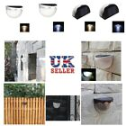 UK 6LED Outdoor Waterproof Light Solar Powered Stairs Fence Garden Security Lamp