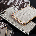 Crystal Diamond Bling TPU Rubber Phone Case Cover For iPhone X 10 7/8 Plus 6s/6
