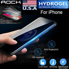 acemannan hydrogel - Genuine ROCK HYDROGEL AQUA FLEX Screen Protector For Apple iPhone X 8 7 6S Plus