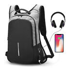 Внешний вид - Anti-Theft Men Women Travel Backpack External USB Charge Port Laptop School Bag