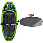 NEW 2018 JOBE JUSTICE GREEN WATER SKI SPORTS KNEEBOARD WITH BONUS CARRY BAG