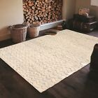 Rugsville Beni Ourain Mina Ivory Wool Moroccan Rug 37001