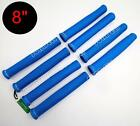 """8"""" HIGH HEAT SHIELD BLUE ENGINE SPARK PLUG WIRE BOOT PROTECTOR SLEEVE COVER USA"""