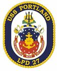 USS Portland Sticker Military Armed Forces Navy Decal M183