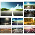 beautiful scenery backgrounds - Road Beauty Scenery Night Sunset Photography Backgrounds Studio Photo Backdrops
