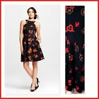 NWT ISANI FOR TARGET Pleated HALTER DRESS Fully Lined FLORAL Sz S, M, L, & XL
